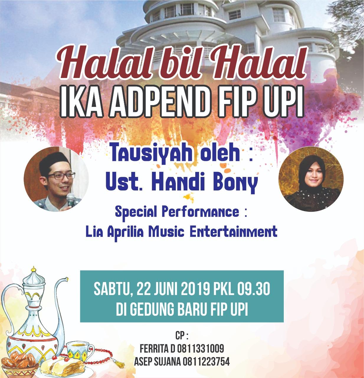 Halal Bil Halal Alumni Adpend 2019
